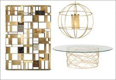 La fantasia gabbia nel design: tavoli, librerie sgabelli e lampade - MarieClaire ##expensivehomes, #interiordesign, #contemporaryfurniture, #modernfurniture