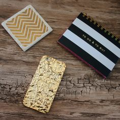 To do & to buy... Gold Crystalline Case for iPhone 6/6s & 6+/6s+