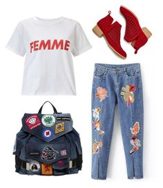 """""""femme"""" by lzbthnadila on Polyvore featuring Miss Selfridge, Jeffrey Campbell and Dsquared2"""