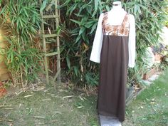 1970s Long Sleeve Maxi Dress  Small by Petticoatjanevintage, £17.50