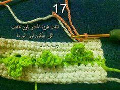 Ponto de Croche com tulipas (crochet tulip blanket)   Para ver o pap completo clique aqui  outros locais onde há o pap:  AQUI            ...