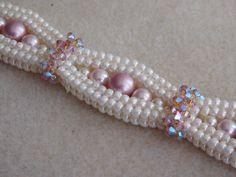 Beaded Bracelet Tutorial Pattern Instructions Jewelry