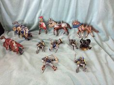 http://www.ebay.com/itm/SCHLEICH-KNIGHTS-STALLIONS-2003-RETIRED-BOYS-GIFT-ACTION-FIGURES- HORSES-PLAY-SET-/271211001736?pt=US_Action_Figures=item3f256f7788 #SCHLEICH #paypal #collection