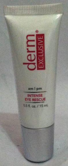Derm Exclusive Intense Eye Rescue .5 oz -- Tried it! Love it! Click the image. : Eye Care