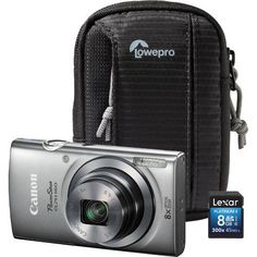 ON SALE: Canon 20.0 MP ELPH 160 PowerShot Digital Camera Kit - $99.88   #Canon #Camera #photography