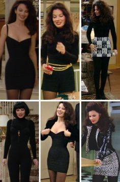 The nanny -fran drescher outfits Fashion Tv, Retro Fashion, Runway Fashion, Fashion Beauty, Vintage Fashion, Fashion Outfits, Nanny Outfit, 80s Outfit, Mode Outfits