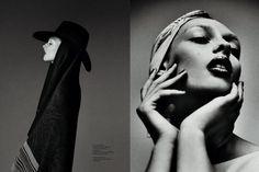 Daga Ziober for Fashion Poland, Winter 2011.  Photographed by Mateusz Stankiewicz.