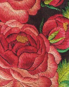 Peony🌸🌸🌸#peony#piwonie#flowers#piękne#ulubione#haftowane#haft#embroidery#embroideryart#artvsartist#artvsartist2018#handmade#handembroidery#madeinpoland#asiagdm#lovemyjob#kwiaty#mulina#dmc#dmcworld#dmcembroidery#rękodzieło#folklor#highlander#