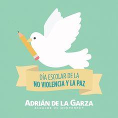 Hoy es el Día Escolar de la No Violencia y la Paz, que sirva este día para concientizar sobre la importancia de enseñar a nuestros hijos buenos valores. Debemos enseñarles que el camino no es la violencia, siempre hay mejores formas de relacionarnos y resolver cualquier situación.