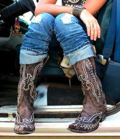 the Thunderbird boot {junk gypsy}