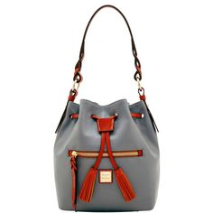 dad1d419f1 Dooney   Bourke Wexford Leather Small Logan Drawstring Shoulder Bag   DooneyBourke  ShoulderBag