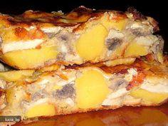 Reteta culinara Mozaic de Ciuperci cu Cartofi si Oua din Carte de bucate, Mancaruri cu legume si zarzavaturi. Specific Romania. Cum sa faci Mozaic de Ciuperci cu Cartofi si Oua
