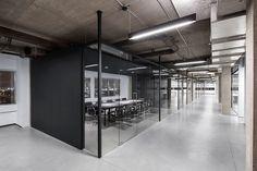 Офис компании SSENSE в Монреале