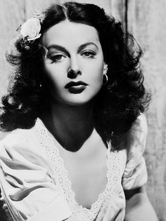 Hedy Lamarr in a promotional still for Tortilla Flat, 1942.