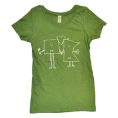 Women's Minnesota (MN) and North Dakota (ND) Love T-shirt by Aych on Etsy, $22.00