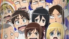 Attack on Titan: Junior High cast comes to school here