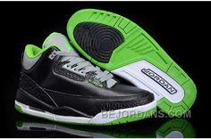 http://www.bejordans.com/big-discount-nike-air-jordan-3-mens-black-green-shoes-ehk4p.html BIG DISCOUNT NIKE AIR JORDAN 3 MENS BLACK GREEN SHOES NNEXP Only $89.00 , Free Shipping!