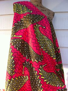 African Wax Print Fabric by the HALF YARD. by MoreLoveMama on Etsy, $4.50