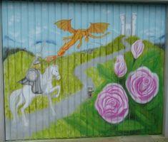 Garage Graffiti Graffiti, Garage, Painting, Art, Atelier, Painting Art, Kunst, Carport Garage, Art Background