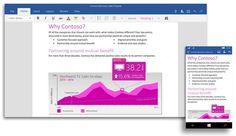 Además de aplicaciones universales de Office para Windows 10, Microsoft lanzará Office 2016 tradicional