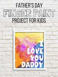 Fathers Day Project FOR KIDS - Whiskey Tango Foxtrot