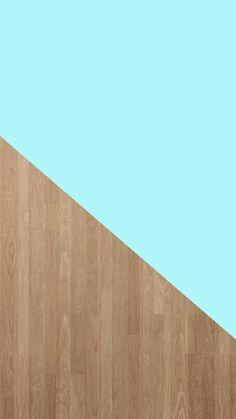 Tiffany Blue + Wood Grain | Free iPhone 6 Background