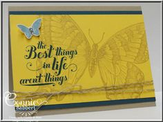 by Connie Babbert, InkspiredTreasures - absolutey LOVE this big butterfly!