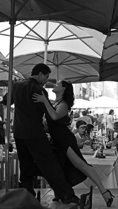 tango: the vertical expression of an horizontal wish.the tango is my absolute favorite dance.only with my Tommy.