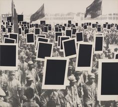 """Annette Lemieux: Black Mass, 1991 (latex, acrylic, and oil on canvas,; 95 13/16 × 105 × 1 13/16 in). From """"An Incomplete History of Protest: Selections from the Whitney's Collection, 1940–2017,"""" currently at the Whitney Museum of American Art, NYC."""