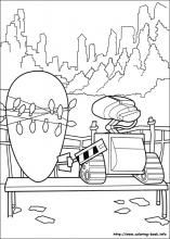 Wall-E coloring pages on Coloring-Book.info
