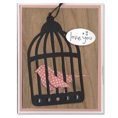 Tool Time-Bird Cage card