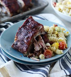 Sweet and Spicy Raspberry-Glazed Ribs - Inspired Gathering