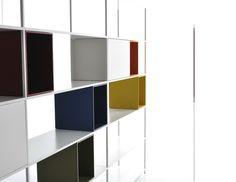 Open aluminium bookcase MINIMA 3.0 Minima Collection by MDF Italia | design Fattorini   Rizzini   Partners