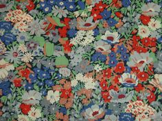 LIBERTY OF LONDON TANA LAWN FABRIC DESIGN  Thorpe  2.1 METRES (210 CM)
