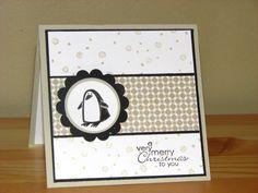 Penguin by Lionsmane - Cards and Paper Crafts at Splitcoaststampers
