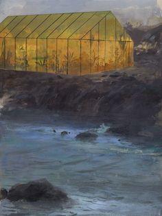 Jeremy Miranda Print 3, Greenhouse Cliff
