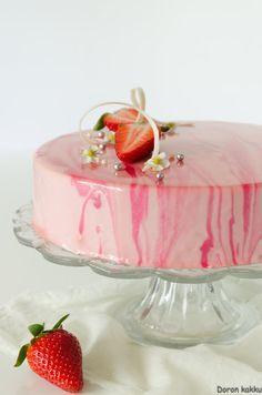 Strawberry Desserts, Breakfast Dessert, Cheesecakes, Afternoon Tea, Mousse, Glaze, Panna Cotta, Brunch, Food And Drink