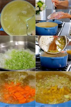 Chicken Noodle Soup is the classic comfort food - loaded with juicy chicken and tender noodles. Easy Chicken Recipes, Easy Dinner Recipes, Seafood Recipes, Soup Recipes, Easy Meals, Recipe Chicken, Easy Recipes, Oven Recipes, Jambalaya