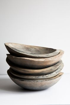 sold individually made from fallen trees Driftwood bowls are food safe, made with milk paint hand wash with mild soap and water, dry off with towel do not p. Driftwood Table, Driftwood Kitchen, Wood Bowls, Soapstone, Rustic Kitchen, Funky Kitchen, Kitchen Reno, Wabi Sabi, Wood Turning