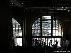 View of concourse at Lucas Oil Stadium
