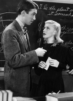 Vivacious Lady (1938) - James Stewart and Ginger Rogers