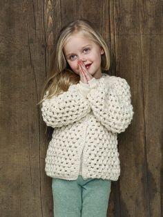 Cardigan Inka Crochet