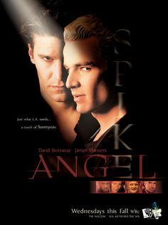 Spin off from Buffy, Angel.  Have all 5 seasons and never get tired of watching it!