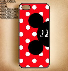 personalized mickey mouse ,Covers,Drop For IPhone 5,IPhone 4