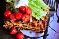Layered Enchilada Bake Recipe | ReluctantEntertainer.com
