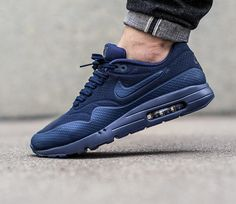 Nike Air Max 1 Ultra Moire - Midnight Navy Midnight Navy-Black 1a846101d8a