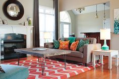 Benoit Project - modern - Living Room - Charlotte - Jacy Painter Kelly