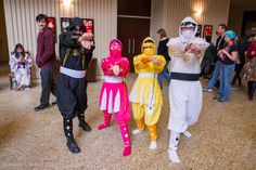 MM Power Rangers | Flickr - Photo by Mark Clifton #momocon #cosplay #powerrangers
