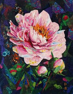 Danny Amazonas is celebrated in the quilt world for his works of art. These beauties consist of thousands of tiny pieces of ...