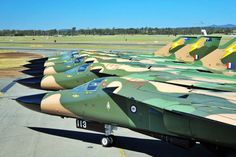 These pigs are almost extinct. Mahalo to Save The F-111 for posting this exceptional lineup of Royal Australian Air Force F-111s. The Pacific Aviation Museum's newest arrival, F-111C no. A8-130, will be formally dedicated this weekend. Aloha from Pearl Harbor!